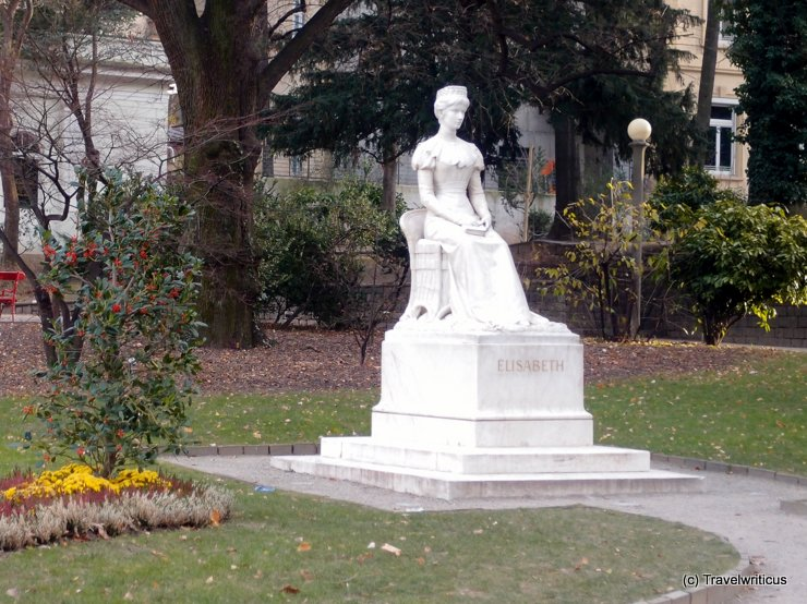 Monument of Sisi in Merano, Italy