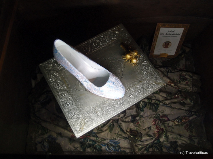 Shoe from the movie 'Three wishes for Cinderella'