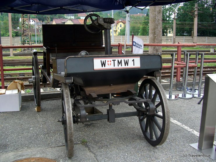 Replica of the second Marcus Car