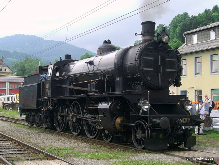 Steam Locomotive SB 109.13 (1912) in Mürzuschlag, Austria