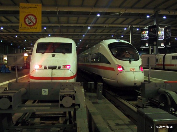 ICE family at Munich Central Station