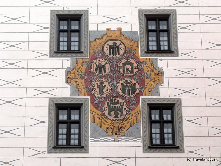 Compilation of Munich city arms