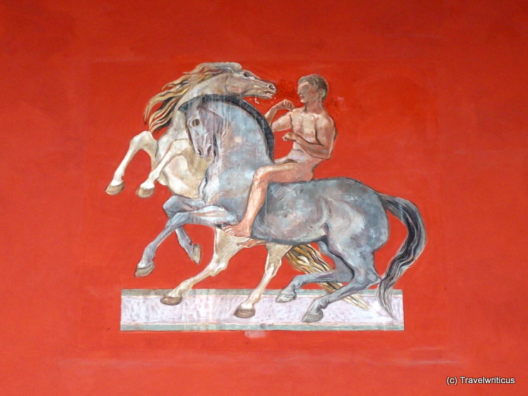 Mural at the Palais Toerring-Jettenbach in Munich, Germany