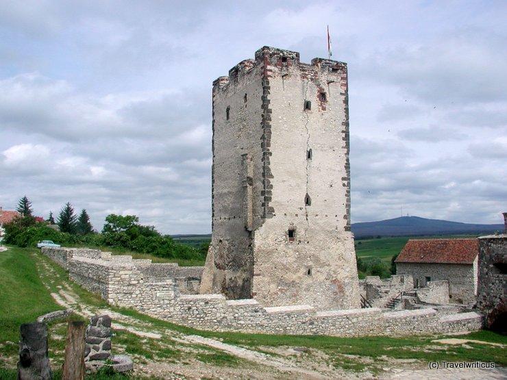Kinizsi Castle in Nagyvázsony, Hungary
