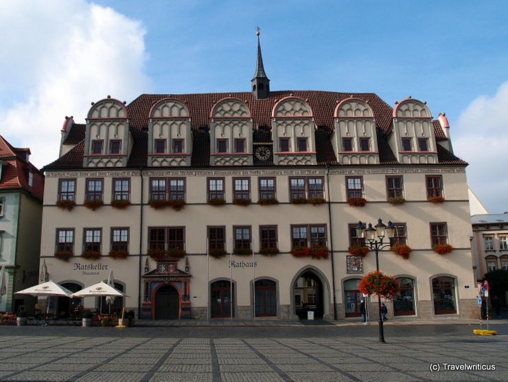 City hall of Naumburg (Saale), Germany