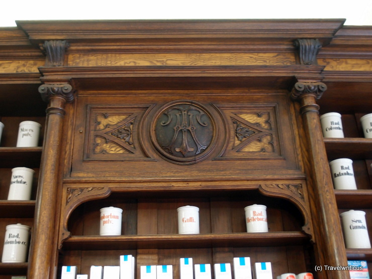 Pharmacy Museum in Naumburg (Saale), Germany