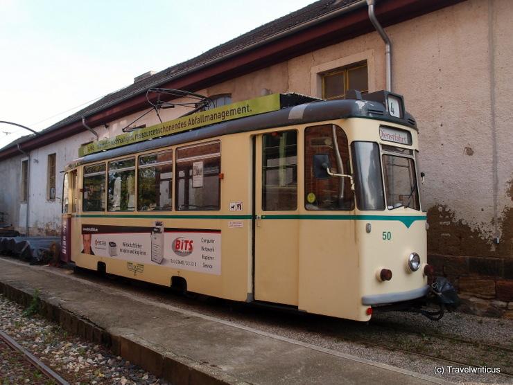 Tramcar Class 70/1 (1971) in Naumburg (Saale), Germany