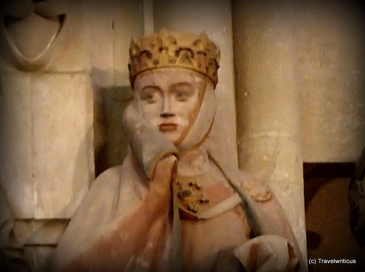 Uta of Naumburg at Naumburg Cathedral in Saxony-Anhalt, Germany
