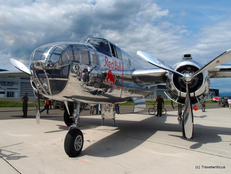 North American B-25J Mitchell in Zeltweg, Austria