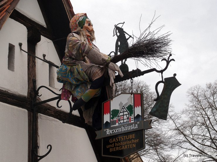 The beekeeper with a crossbow in Nuremberg, Germany