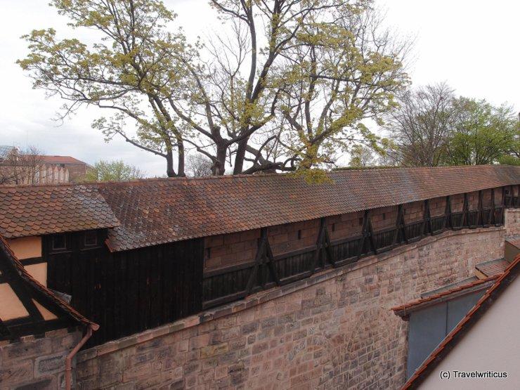 Town wall of Nuremberg, Germany