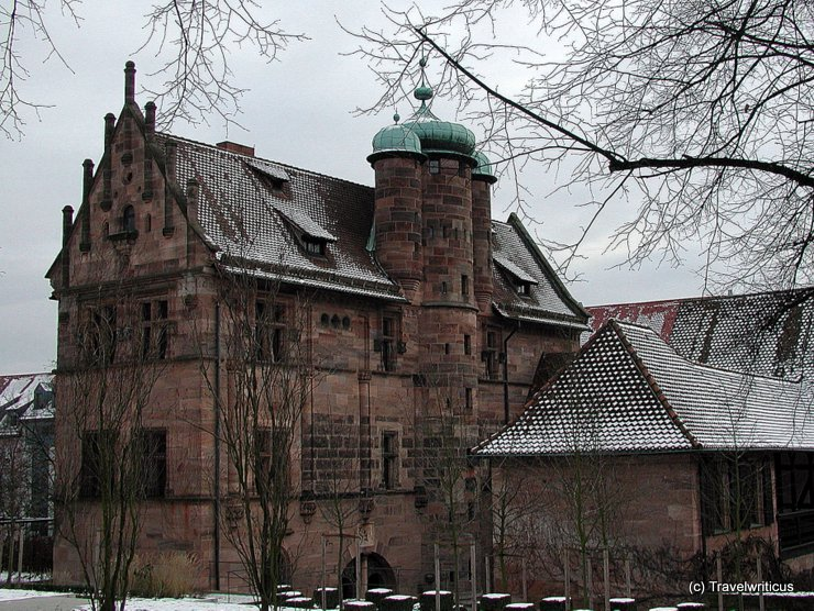 Tucherschloss in Nuremberg, Germany