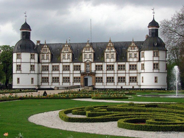 Garden side of Schloss Neuhaus, Paderborn