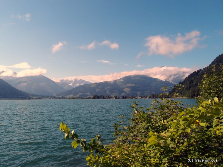 Zell Lake in the region of Pinzgau, Austria
