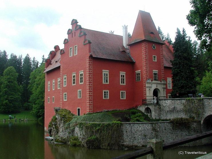 Červená Lhota Castle in Pluhův Žďár, Czech Republic