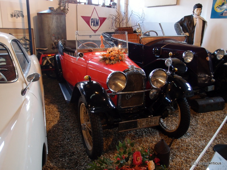 Aero 662 (1932) at the classic car museum in Poysdorf, Austria