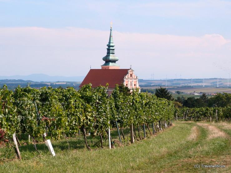 Parish church of Poysdorf, Austria