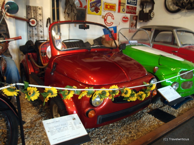 Puch 500 Cabrio (1965) in Poysdorf, Austria