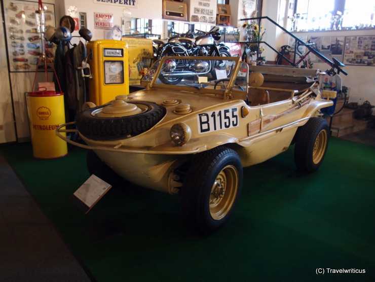VW Schwimmwagen (1943) at the classic car museum in Poysdorf, Austria