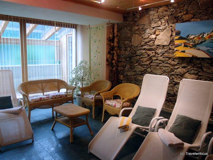 Recreation room at the Ortnerhof in Prägraten, Austria