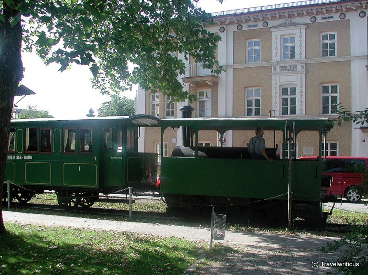 Chiemsee Railway (1887) in Prien, Germany
