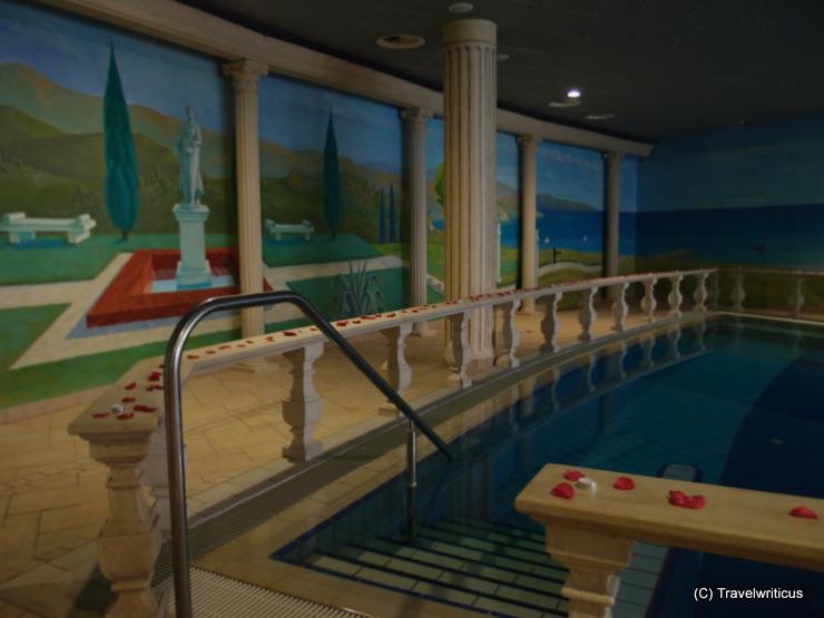 Roman pool at the Grand Hotel Primus in Ptuj, Slovenia