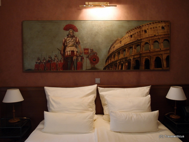 Painting II at the Roman suite of Hotel Mitra in Ptuj, Slovenia