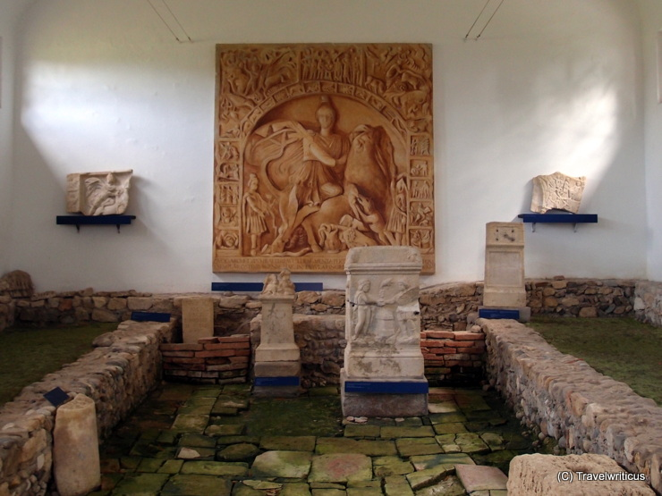 Mithras shrine III in Ptuj, Slovenia