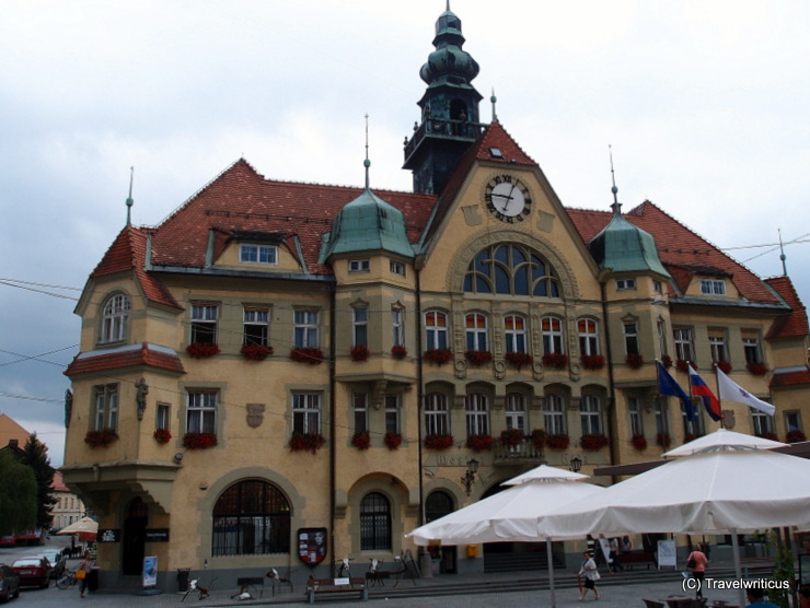 New city hall (1907) of Ptuj, Slovenia