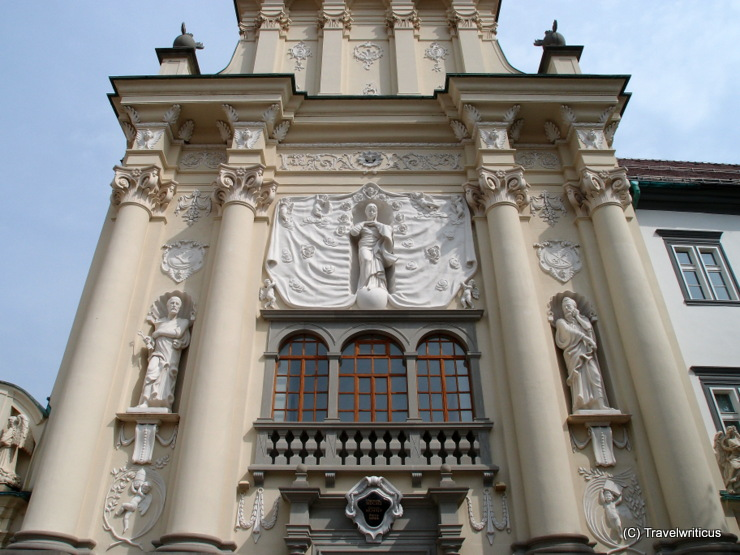 St Peter and Paul church in Ptuj, Slovenia