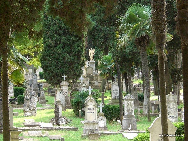Austro-Hungarian naval cemetery in Pula, Croatia