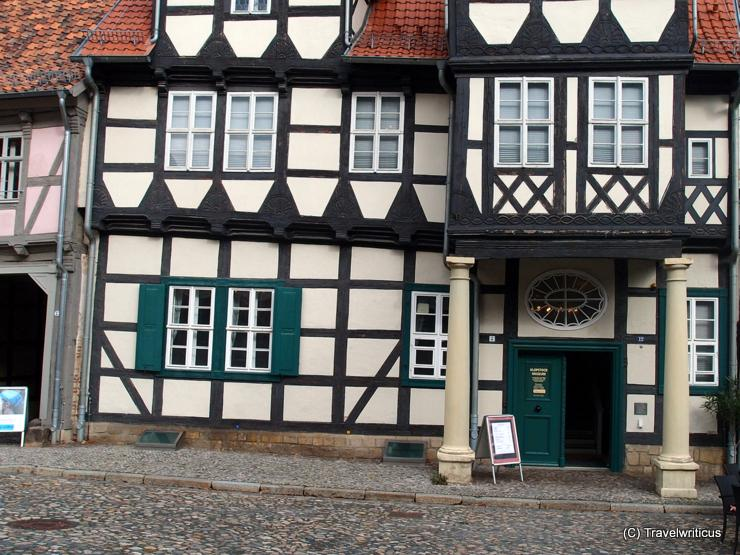 Klopstock House in Quedlinburg, Germany