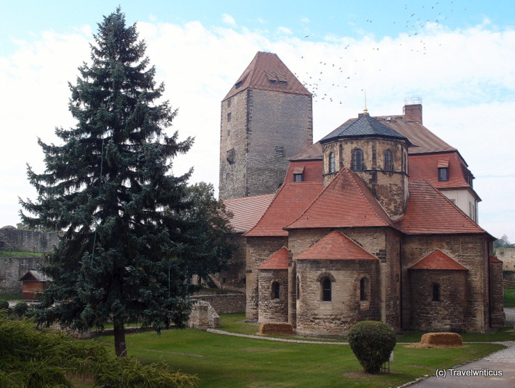 Romanesque chapel at Querfurt Castle