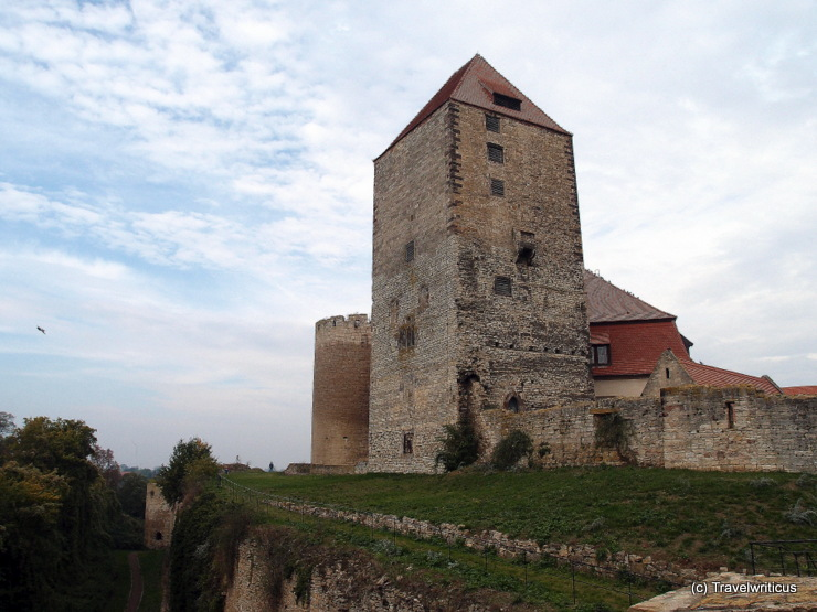 Tower of torture at Querfurt Castle in Saxony-Anhalt, Germany