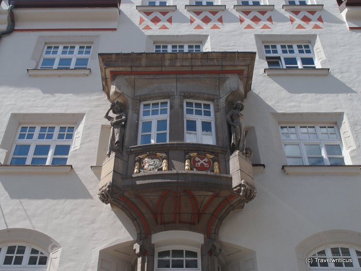 Emblem of Regensburg, Germany