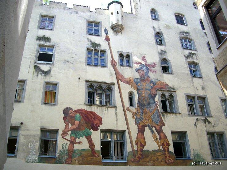 Goliathhaus in Regensburg, Germany