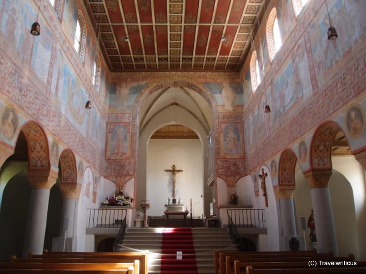 Late Carolingian frescoes on Reichenau Island, Germany