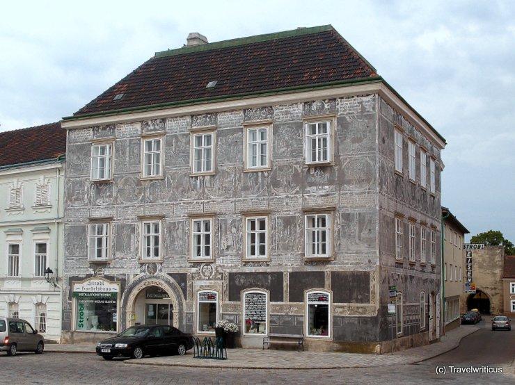 Scraffito Haus of Retz, Austria
