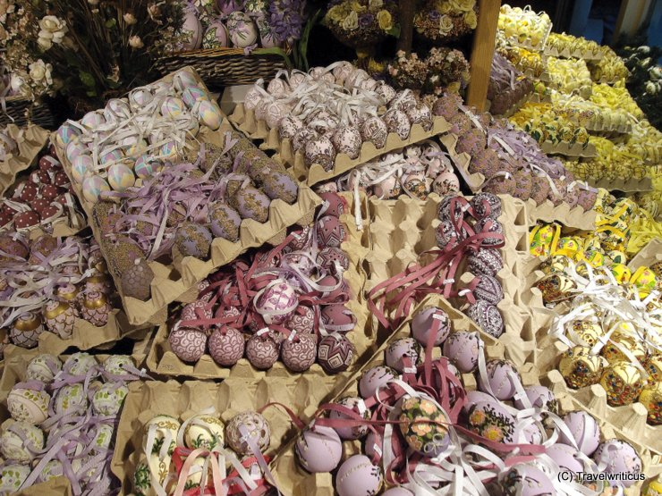 Shop for Easter eggs in Salzburg, Austria