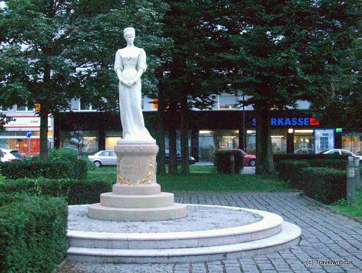 Monument to Sisi in Salzburg, Austria