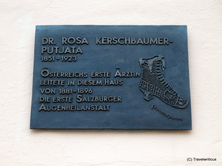 Women's trail (Frauenspuren) in Salzburg