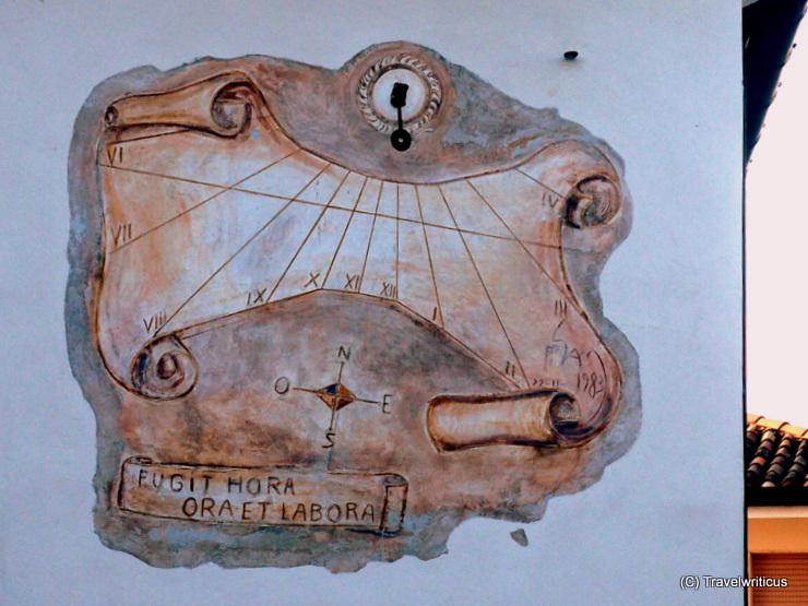 Sundial in San Daniela del Friuli, Italy