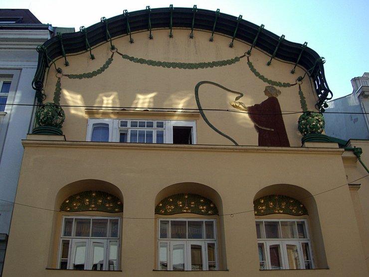 Olbrich House in Sankt Pölten, Austria