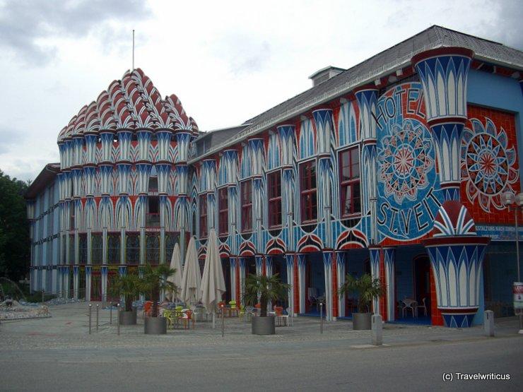 Ernst-Fuchs-Palast in St. Veit, Austria