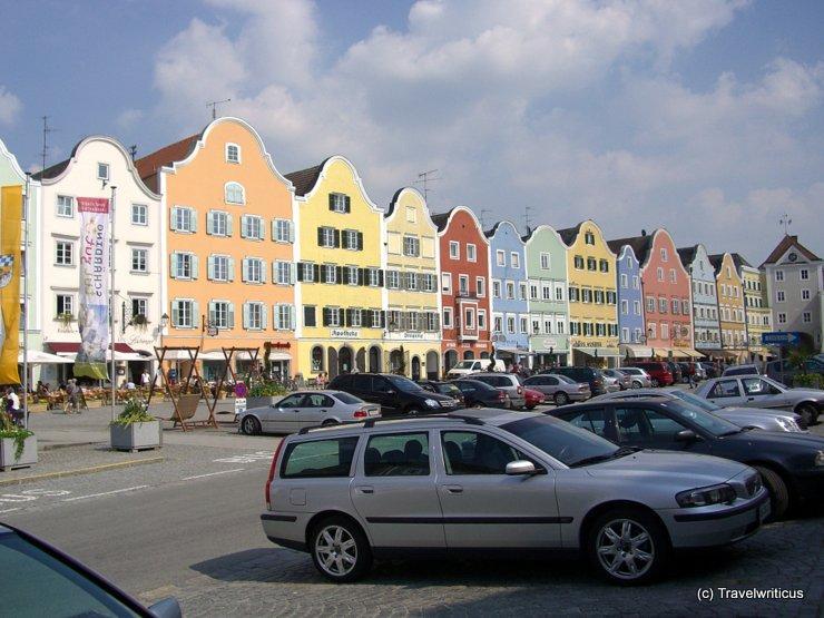 The 'Silberzeile' of Schärding, Austria