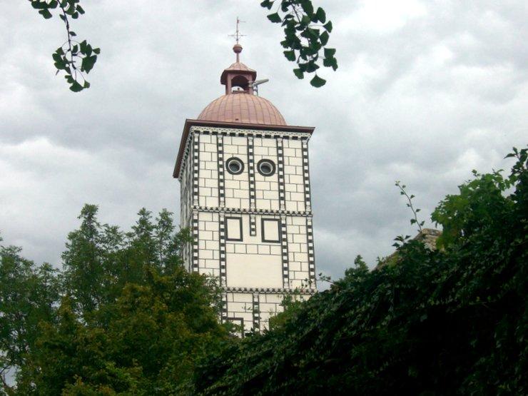 Tower of Schallaburg Castle, Austria