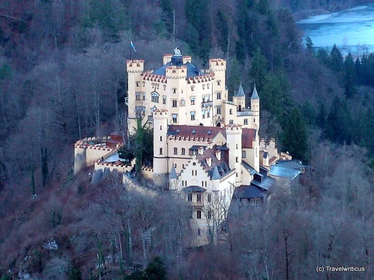 Hohenschwangau Castle in Schwangau, Germany