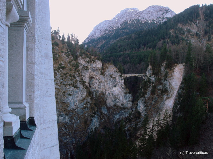 Longshot of the Marienbrücke in Schwangau, Germany