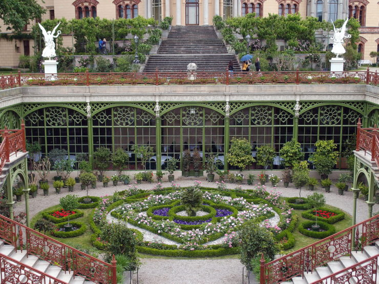 Orangery of Schwerin Palace in Schwerin, Germany