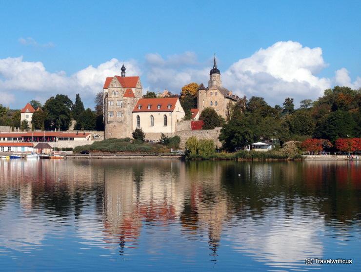 Seeburg Castle in Seegebiet Mansfelder Land, Germany